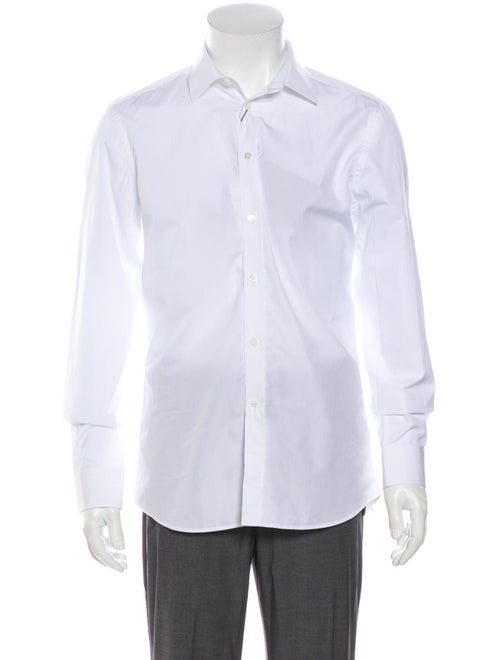 Burberry Long Sleeve Dress Shirt White