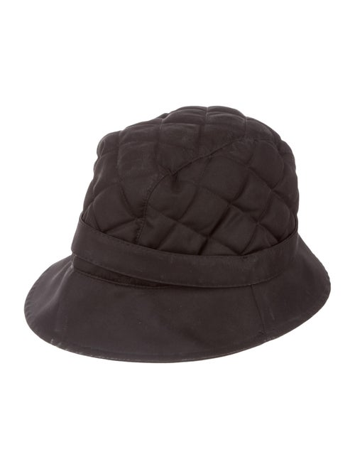 Burberry Quilted Bucket Hat Black