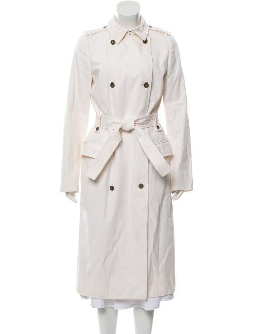 Burberry Long Belted Coat Beige