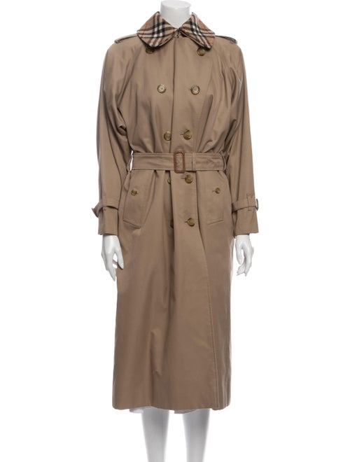 Burberry Wool Trench Coat Wool