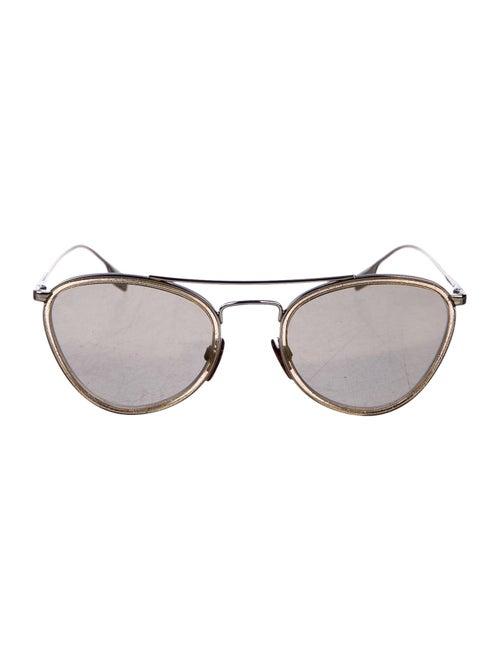 Burberry Cat-Eye Glitter Sunglasses Gold