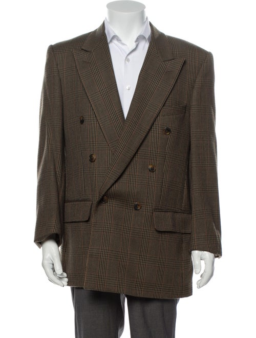 Burberry Vintage Wool Sport Coat Green