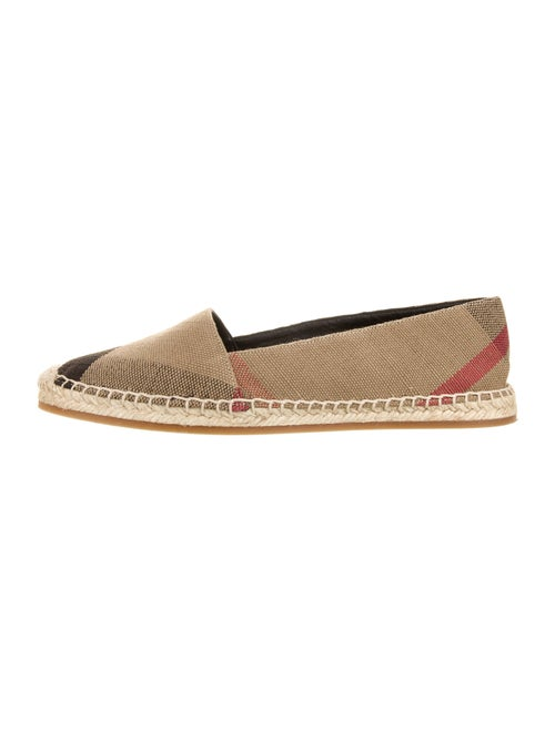 Burberry House Check Pattern Espadrilles
