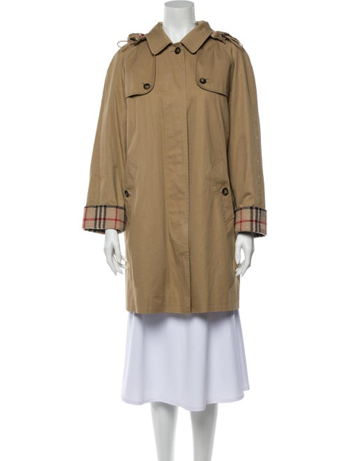Burberry Trench Coat Brown