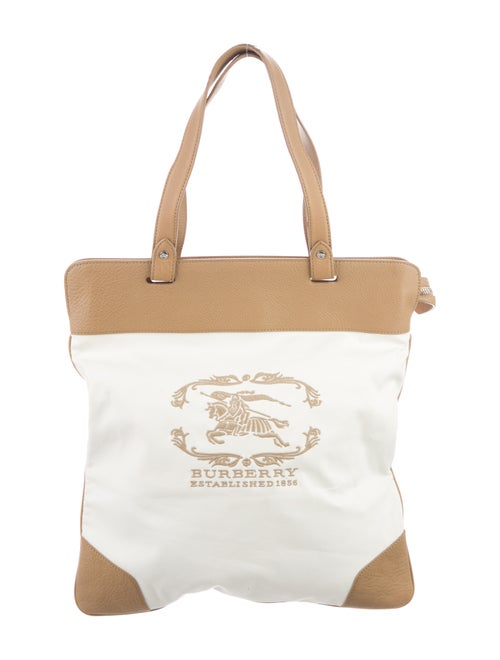 Burberry Burberry Stowell Tote Bag White