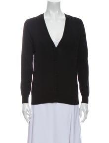 Burberry Merino Wool V-Neck Sweater