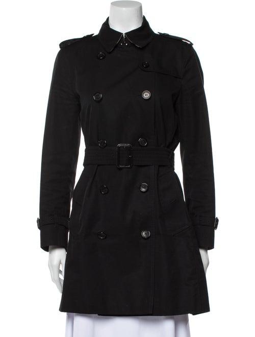 Burberry Kensington Trench Coat Black