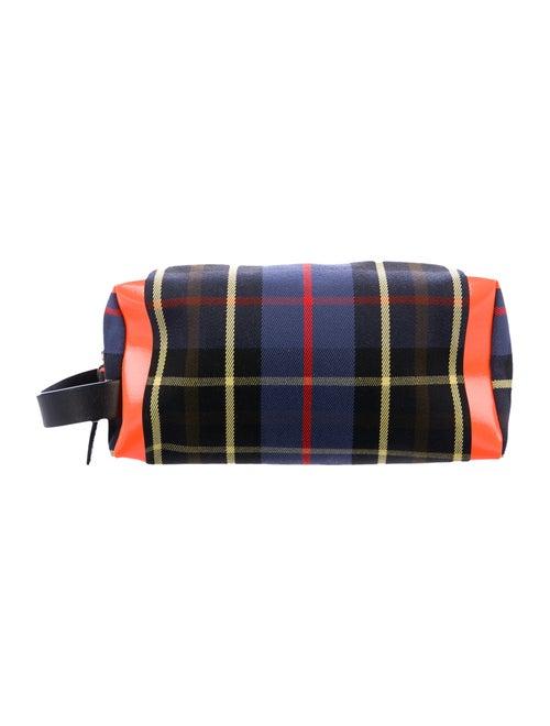 Burberry Tartan Cosmetic Bag Navy