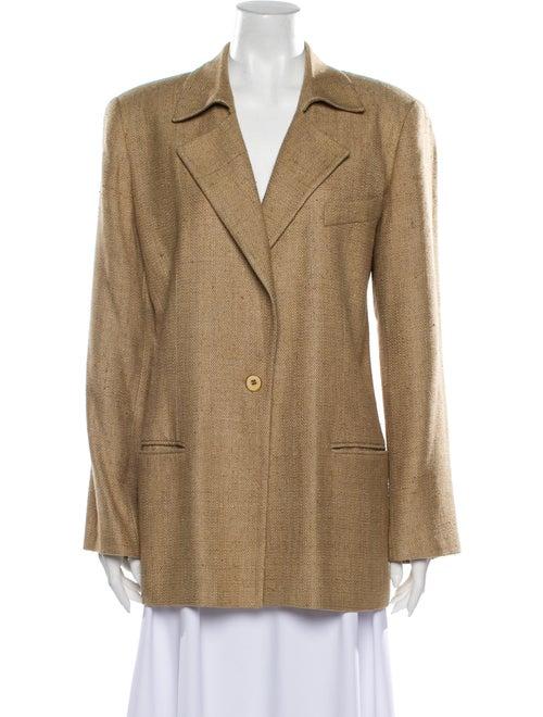 Burberry Vintage Silk Blazer