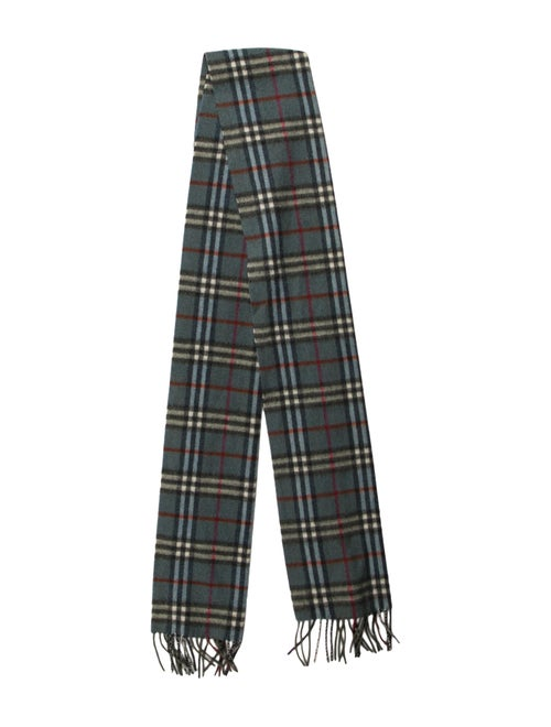 Burberry Cashmere Nova Check Scarf multicolor