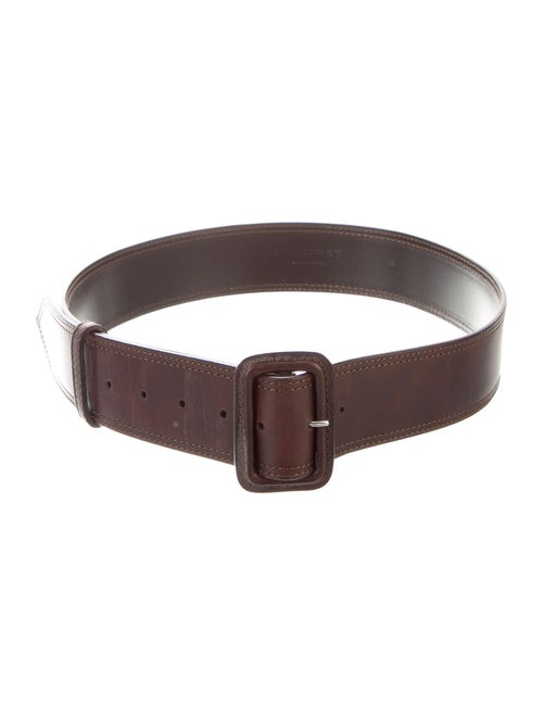 Burberry Leather Waist Belt Brown