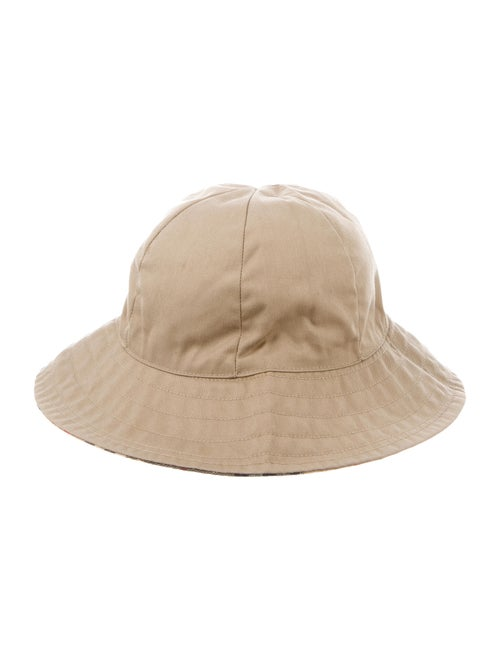 Burberry Nova Check Bucket Hat Tan