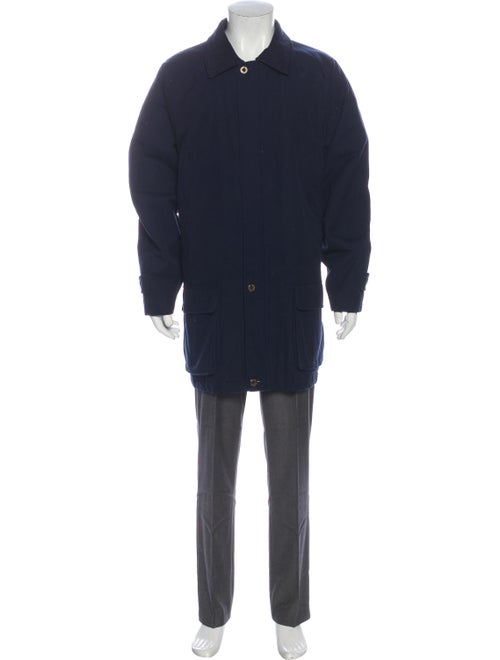 Burberry Vintage Coat Blue