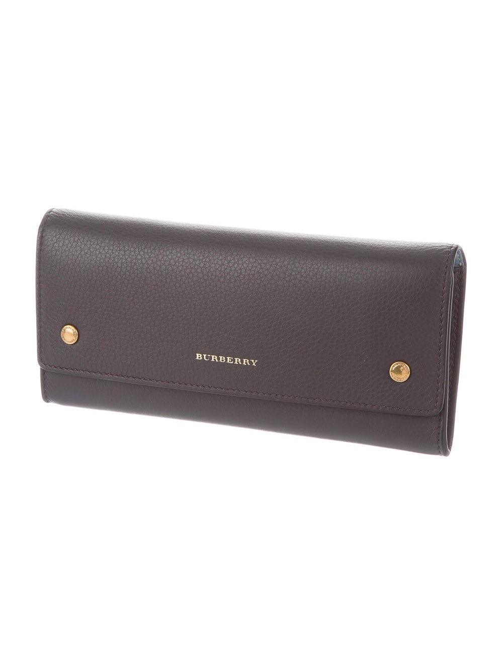Burberry Leather Continental Wallet gold - image 3