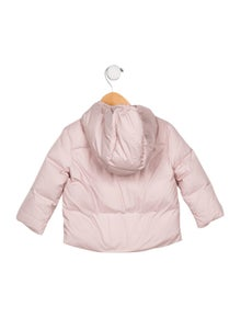 Burberry Girls' Hooded Down Jacket w/ Tags