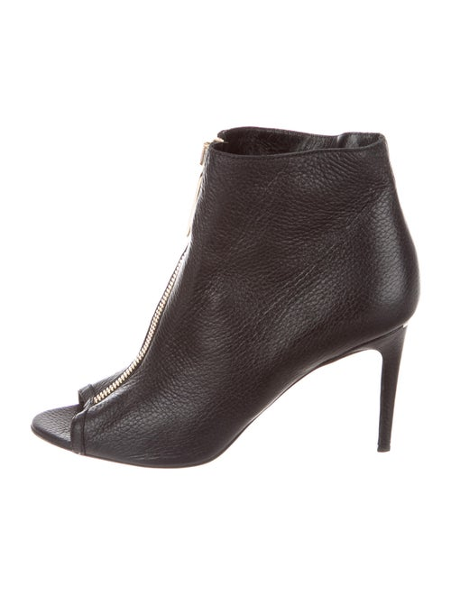 Burberry Leather Boots Black