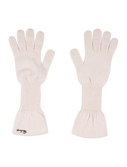 Burberry Merino Wool Knit Gloves wool