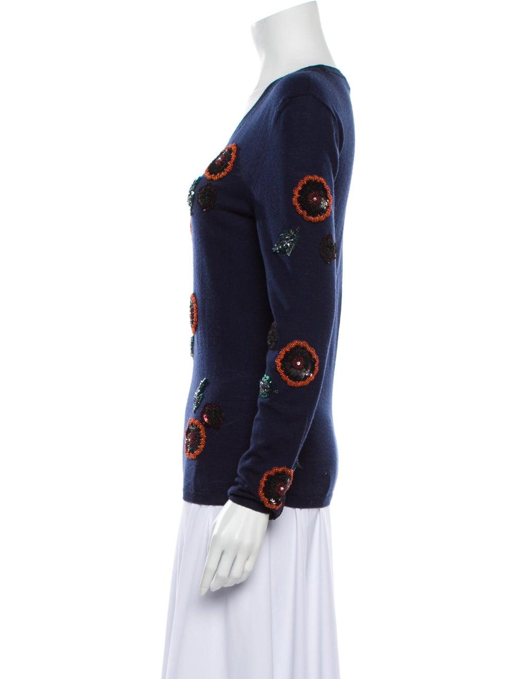 Burberry Wool Printed Sweater Wool - image 2