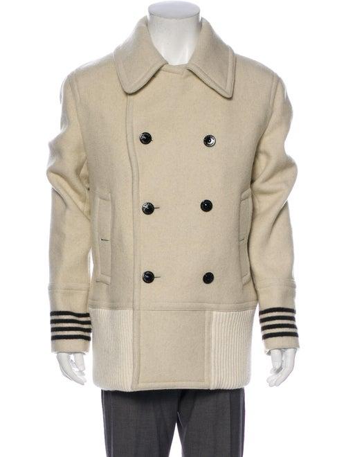 Burberry Virgin Wool Coat Wool