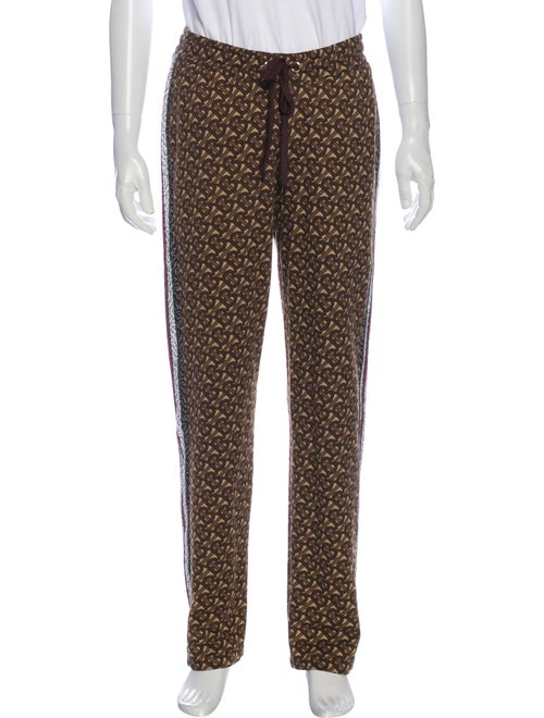Burberry Printed Joggers w/ Tags Black