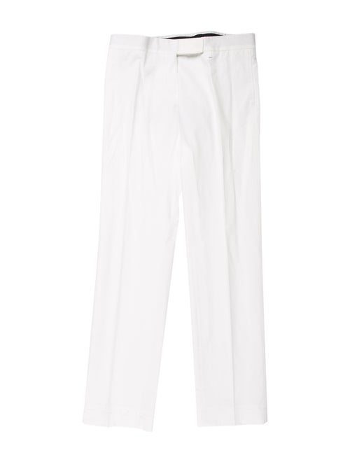 Burberry Straight Leg Pants White