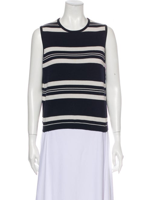 Burberry Vintage Striped Top Blue