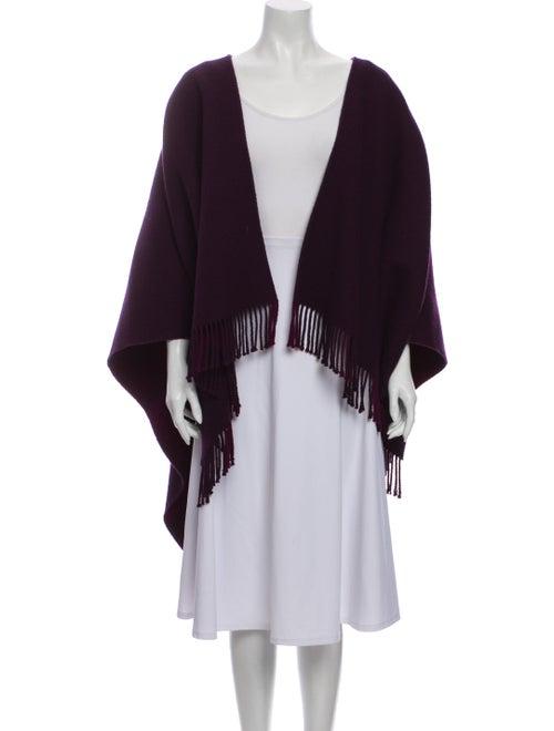 Burberry Merino Wool Cape Wool