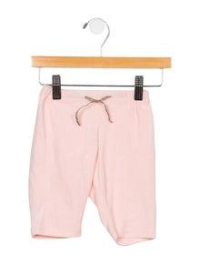 Burberry Girls' Velvet Nova Check-Trimmed Sweatpants