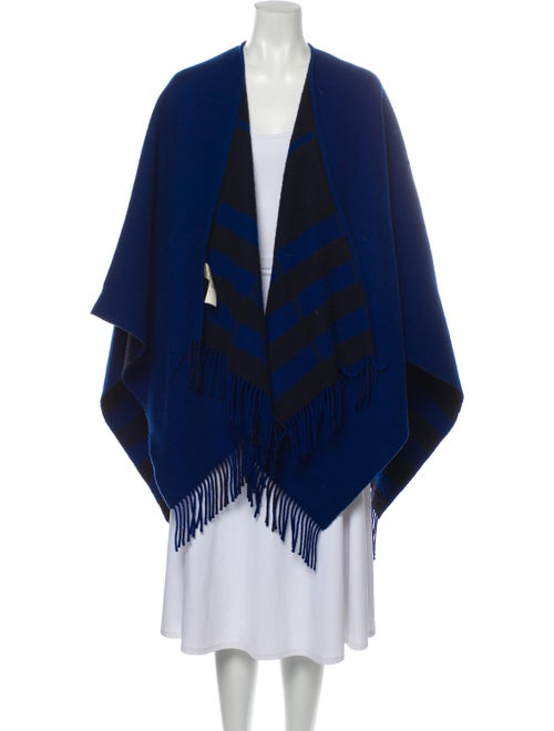 Burberry Merino Wool Poncho Wool