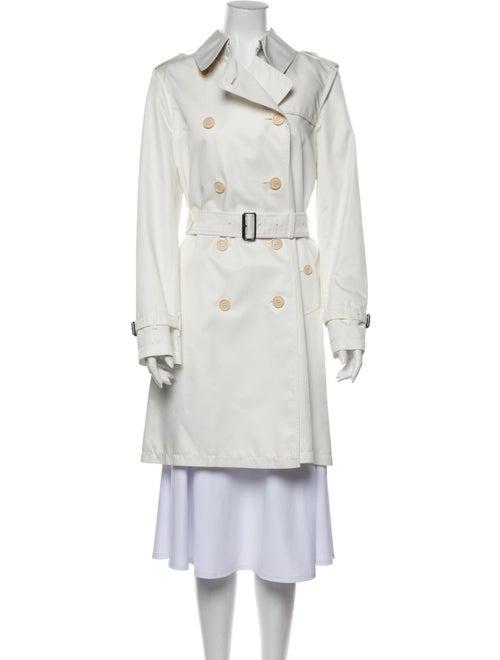 Burberry Trench Coat White
