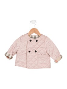 Burberry Girls' Quilted Jacket