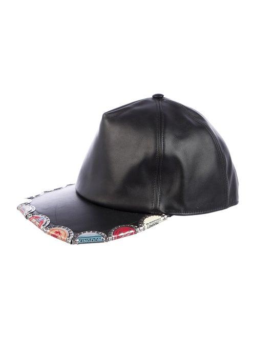 Burberry Bottle Cap Baseball Cap Black