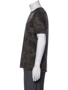 Burberry Printed Crew Neck T-Shirt