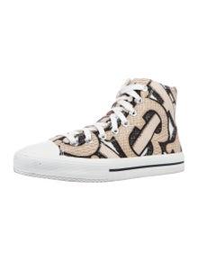 Burberry 2020 Monogram Pattern Sneakers