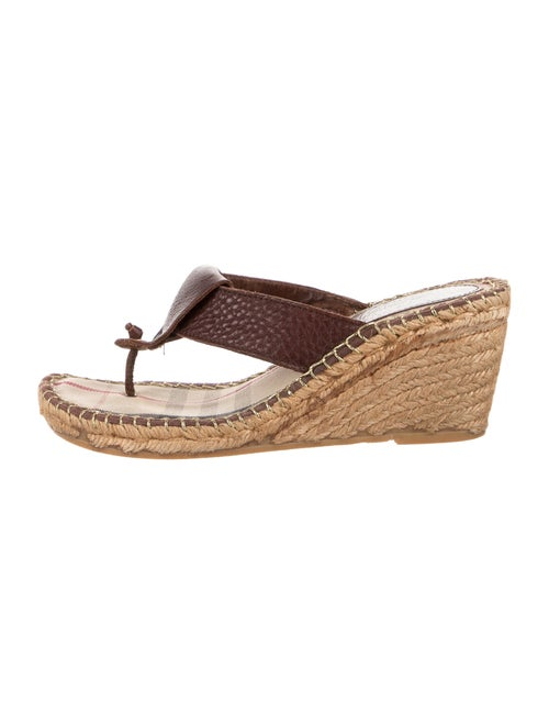 Burberry Espadrilles Brown