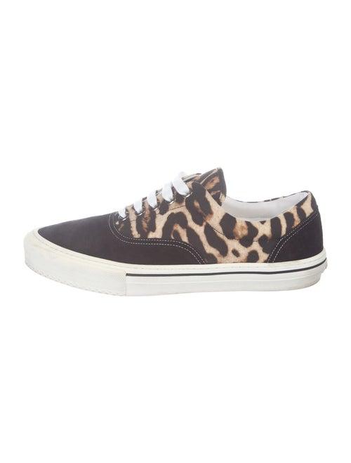 Burberry Wilson Leopard Sneakers Leopard