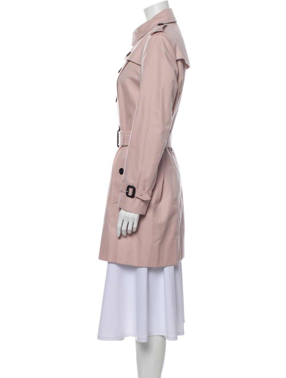 Burberry Trench Coat Pink - image 2