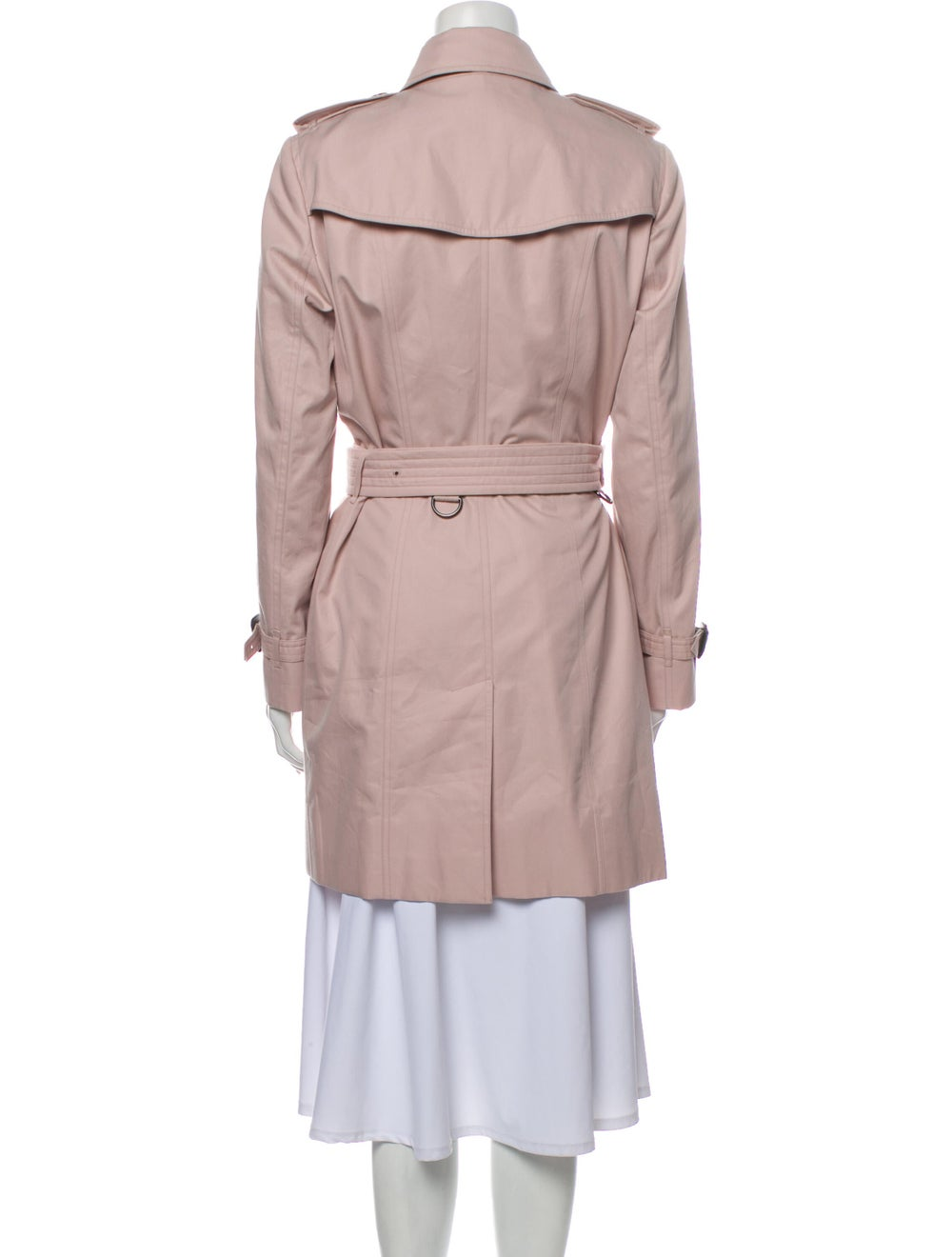 Burberry Trench Coat Pink - image 3