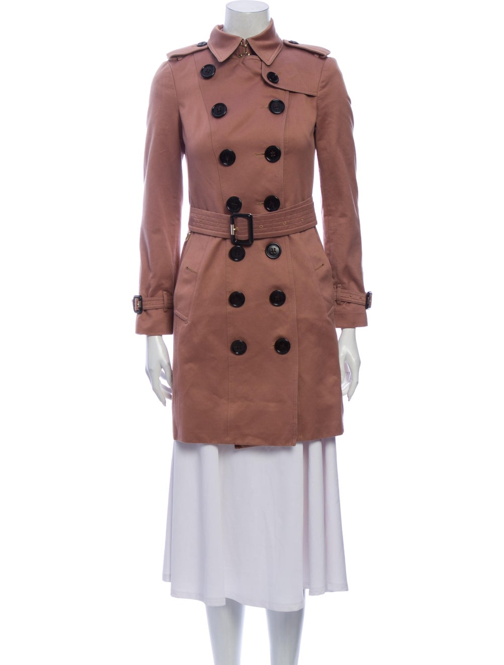 Burberry Trench Coat Pink - image 4
