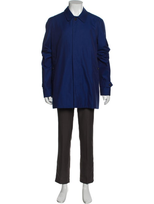 Burberry Trench Coat Blue - image 1