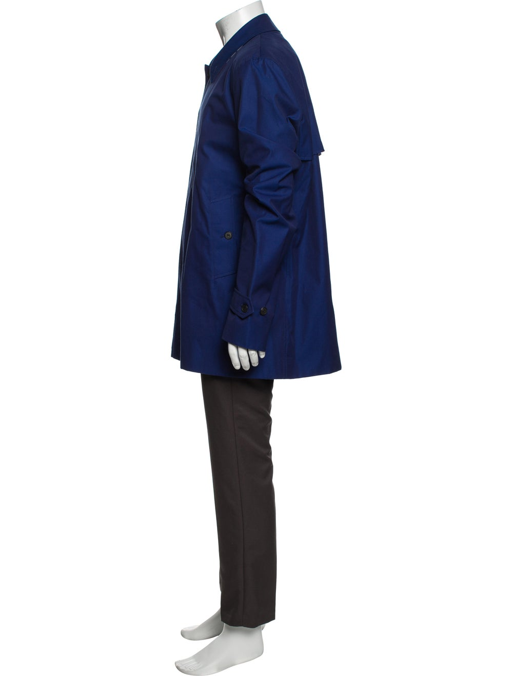 Burberry Trench Coat Blue - image 2