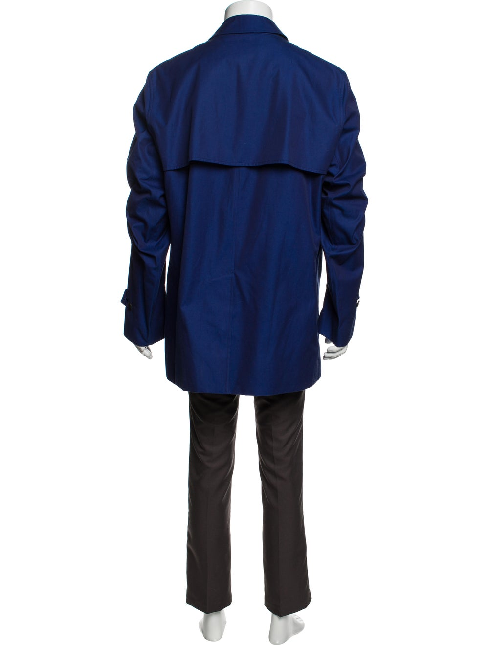 Burberry Trench Coat Blue - image 3