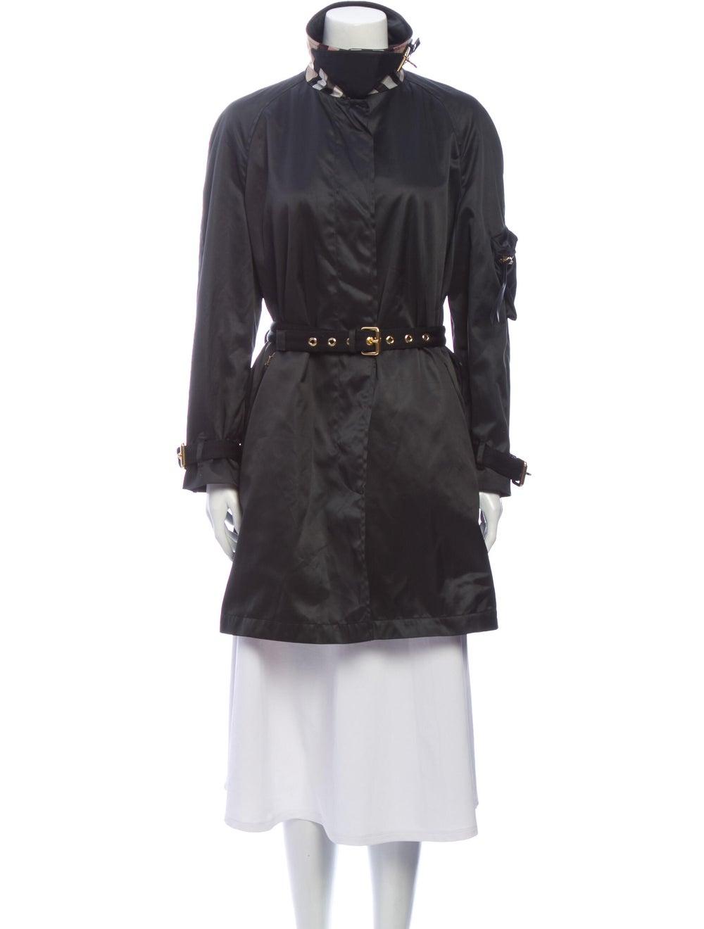 Burberry Trench Coat Black - image 1