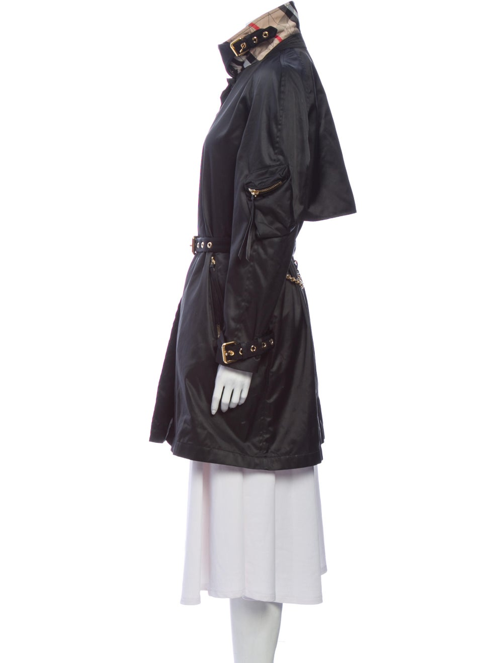 Burberry Trench Coat Black - image 2
