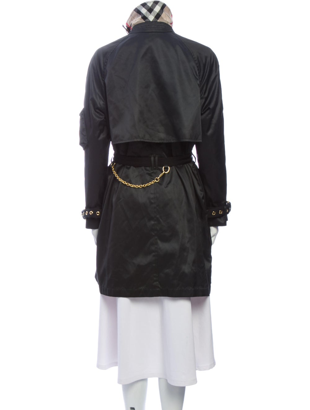 Burberry Trench Coat Black - image 3