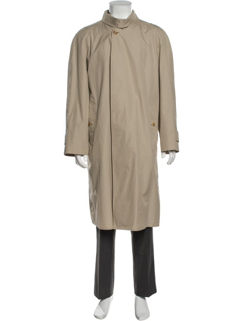 Burberry Vintage House Check Pattern Trench Coat