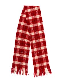 Burberry Merino Wool Striped Scarf