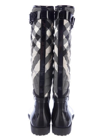 Burberry Quilted Rain Boots - Shoes - BUR22219 | The RealReal : burberry quilted rain boots - Adamdwight.com