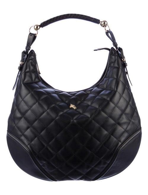 eacf1015cde0 Burberry Hoxton Quilted Hobo - Handbags - BUR22561