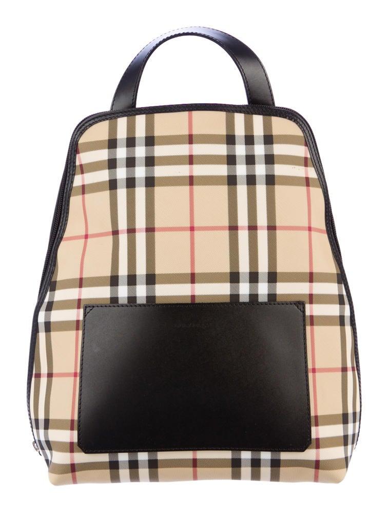 Burberry Nova Check Backpack - Handbags - BUR22632 | The ...